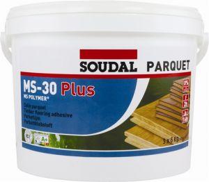 Soudal MS-30 Plus - Parquet Adhesive 16kg (6 tubs minimum)