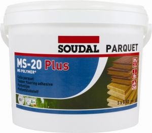 Soudal MS-20 Plus Parquet Floor Adhesive 16kg (7 tubs minimum)