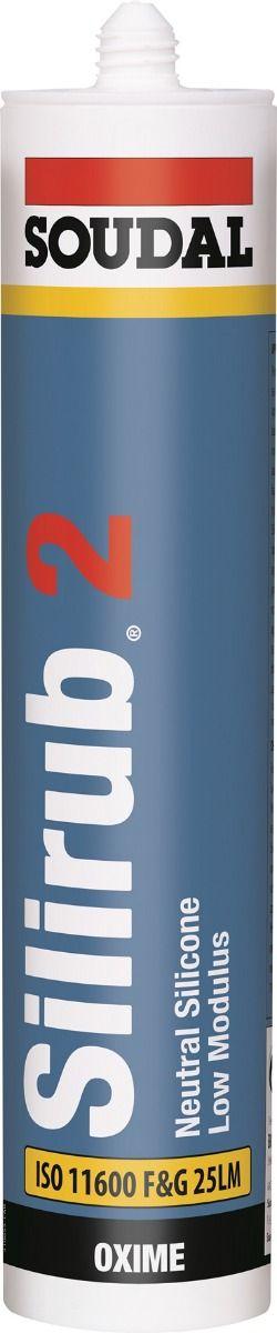Soudal Silirub 2  Silicone Sealant