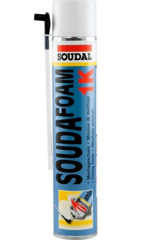 Soudal Soudafoam 1K Expanding Foam 750ml (Hand Held)