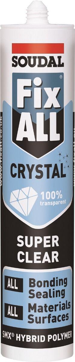 Soudal Fix All Crystal Clear MS Polymer