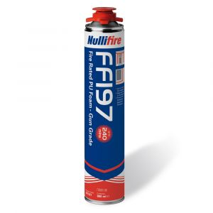 Nullifire FF197 B1 Fire Rated Gun Grade PU Foam 750ml