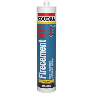 Soudal Firecement HT High Temperature Sealant 1500C