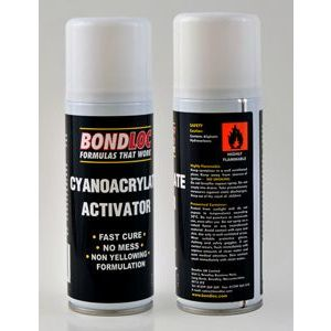 Bondloc Super Glue Activator BULK PURCHASE (200ml)
