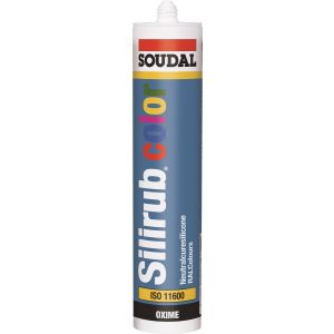 Soudal Silirub Colour. RAL Coloured Silicone