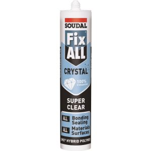 Soudal Fix All Crystal Clear MS Polymer