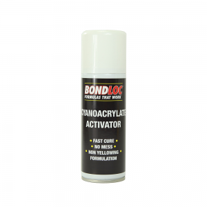 Bondloc Super Glue Activator (200ml) Non Yellowing