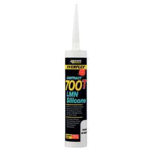 Everbuild 700T Silicone Sealant (Box 25)