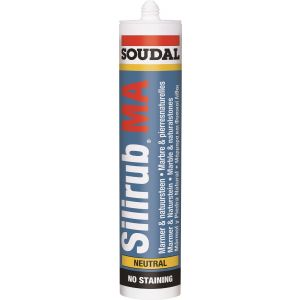 Soudal Silirub MA. For Natural Stone Joints