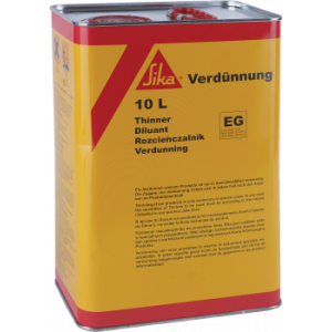 SIKA Thinner EG - 10L Use With Sikabond 5500S