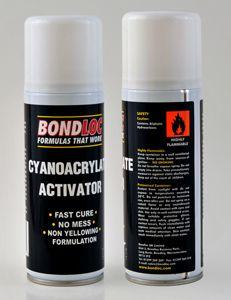 Bondloc Super Glue Activator (200ml) Non Yellowing