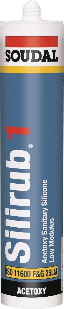 Soudal Silirub 1 Universal Kitchen & Bathroom Sealant