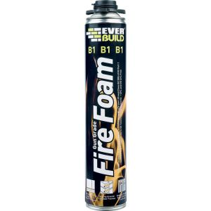 Everbuild B1 Fire Rated Expanding Foam (Gun Grade)