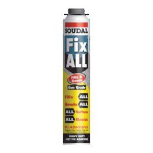 Soudal Fills & Bonds Adhesive Expanding Foam (Gun Grade)