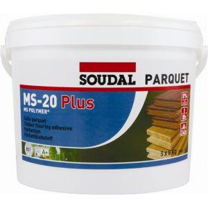 Soudal MS-20 Plus Parquet Floor Adhesive 6 & 16kg Tins