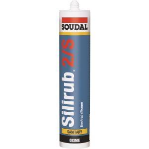 Soudal Silirub 2/S  Food Safe Sanitary Silicone
