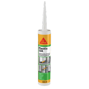 Sika Plastix-22A Silicone Sealant Box White - Recently Expired